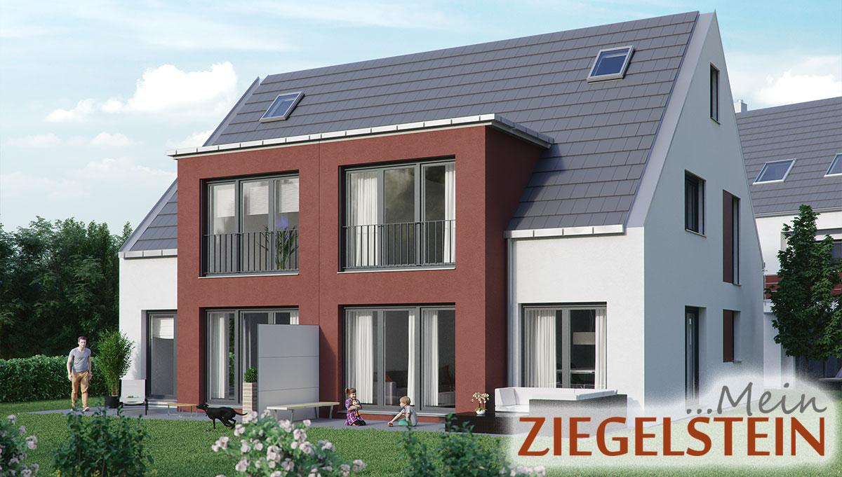 doppelhaus in n rnberg ziegelstein schultheiss wohnbau ag. Black Bedroom Furniture Sets. Home Design Ideas