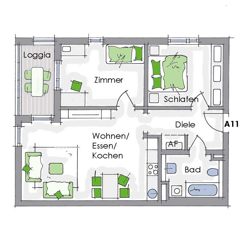 schultheiss wohnbau etagenwohnung 3 zimmer 73ma stellenangebote