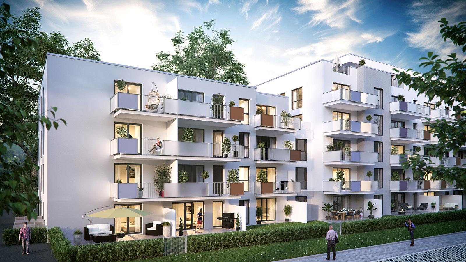 Eigentumswohnung in der balbiererstrasse f rth for Eigentumswohnung